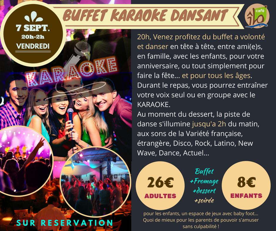 buffet karaoke